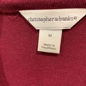 Christopher & Banks Sweaters - Christopher & Banks Sweater with built in tank